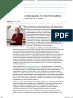 """""""El Papa Francisco sería incapaz de conversar en latín"""" _ Sociedad _ EL PAÍS"""