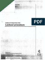 CP 91 (2001)Lockout Procedure