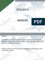 Kuliah 6 Memory