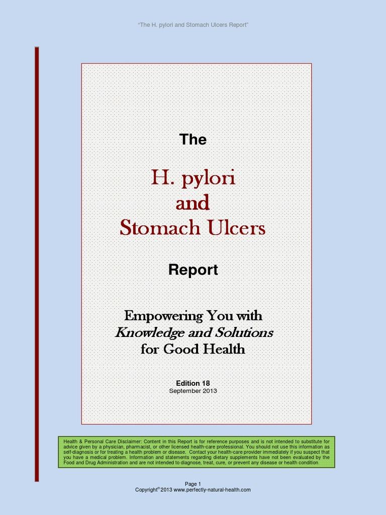 Er Hpylori Peptic Ulcer Gastroenterology