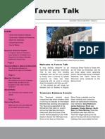 Taverners Newsletter Oct 2013