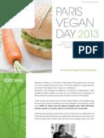 Paris Vegan Day 2013 - dossier de presse