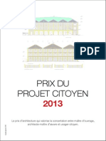 Dossier Presse Prix Du Projet Citoyen - Darwin Bordeaux
