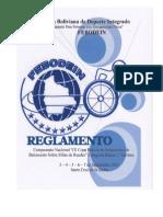 Reglamento Copa Bolivia 13. Oficial Ultimo PDF