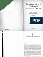 Nisbet, Robert - Cambio Social 1
