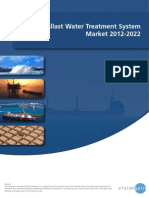 The Ballast Water Treatment System Market 2012-2022