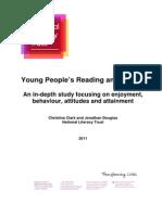 Attitudes Towards Reading Writing Final 2011