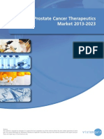 The Prostate Cancer Therapeutics Market 2013-2023