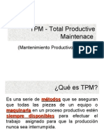 TPM - Total Productive Main Ten Ace  ANTECH EL SALVADOR