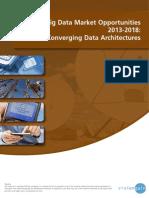 World Big Data Market Opportunities 2013-2018