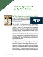 Gabarro Excerpt ON MANAGMENT SKILLS
