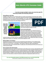Example of Two Page One Sfe Re Solar Pv Consumer Guide