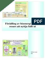 Förädling av bioenergi - en lokal resurs att nyttja fullt ut - Ulf-Peter Granö 2013 SE