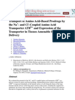 Transport of Amino Acid