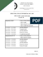 Structura an Univ 2013 2014 drept