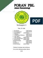 Laporan PBL Hematologi Modul 1