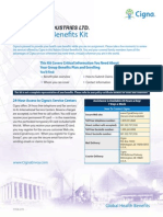 Cigna Global Benefits Kit