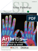 Arthritis - Which Tests to Choose, And Which to Avoid Nov08