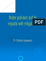 Water Pollution in Water Bodies