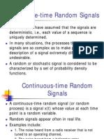 Course 09-2 - Discrete Time Random Signals
