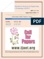 Call for Paper Engineering 2013