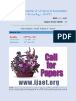 Call for Paper Journals 2013