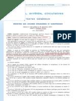 Décret CAMPUS FRANCE du 30-12-2011 - François FILLON