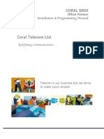 Coral Telecom (India) all EPABX Programming Manuals
