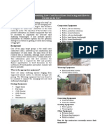 Equipment for Low Cost Rural Road Surfacing