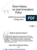 A Short History of Science and Innovation Policy