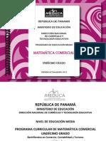 Matemática Com 11°- 2013