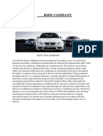 strategic management on BMW