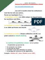 Les topologies réseaux et le Systeme d exploitation reseau