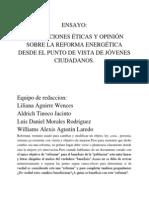 Ensayo Reform a Energetic A