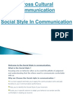 Socail Style in Comunicaton 1
