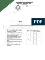 End Yr Physics F4 2009 Paper 3