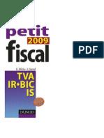 DUNOD Le Petit Fiscal 2009