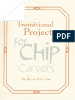 Transitional Projects for Chip Carvers - Bruce Nicholas