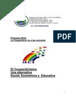 PROYECTO El Cooperativismo Para Las Escuelas Primarias