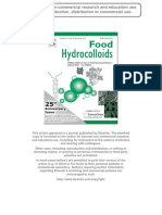 58. Food Hydrocolloids as Additives to Improve the Mechanical and Functional Properties of Fish Products - A Review