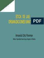 ETICA ORGANIZACIONES