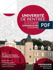 Bulletin d'Inscription Programme UnivMLG