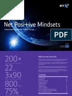 Net Positive Mindsets