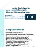 Instrumental Analysis Chap 5_Chromatography