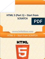 Part 1 - HTML 5 Starts From Scratch