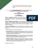 Observaciones Reglamento TIC UDAPE - 06-06-2013
