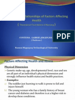 Interlinking Relationships of Factors Affecting Health