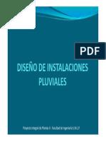 Instalaciones pluviales