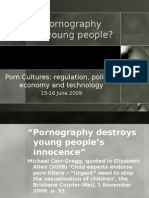 Does pornography damage young people?
