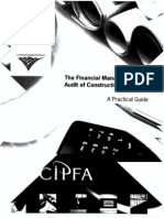 CIPFA,.Financial Management and Audit of Construction Contracts - A Practical Guide.[1999.ISBN0852998880]